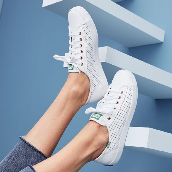 78a47afdb927 Keds Shoes - KEDS • kickstart leather perfed sneakers